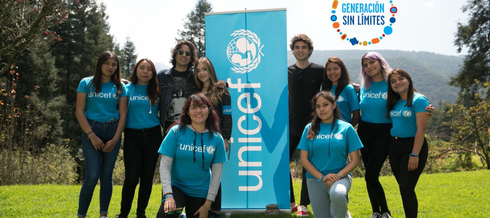 Generación sin Límites. Proyecto para UNICEF-México